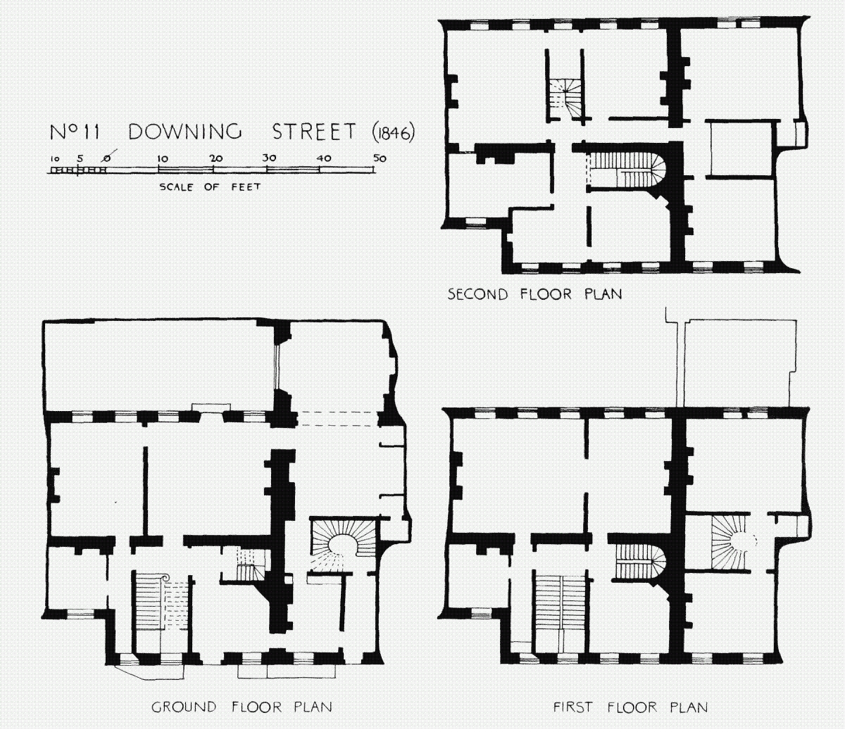 Downing Street Floor Plans London Uk